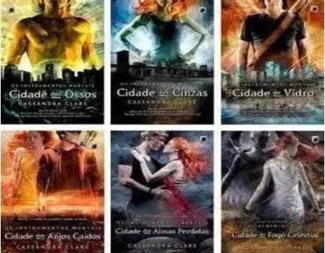 Kit Livros - Série Os Instrumentos Mortais 6 Livros - Galera ...
