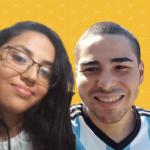 Andre Samora e Victoria Alves